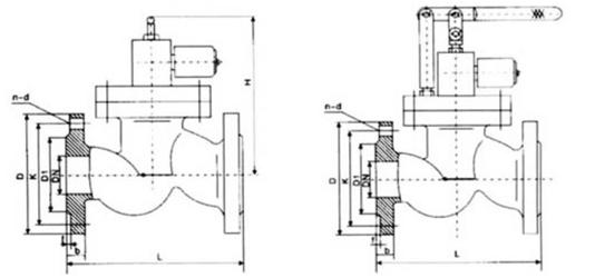 ZCRB系列常开式电磁紧急切断阀